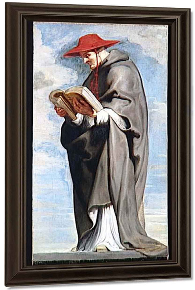 Saint Bonaventure By Peter Paul Rubens By Peter Paul Rubens