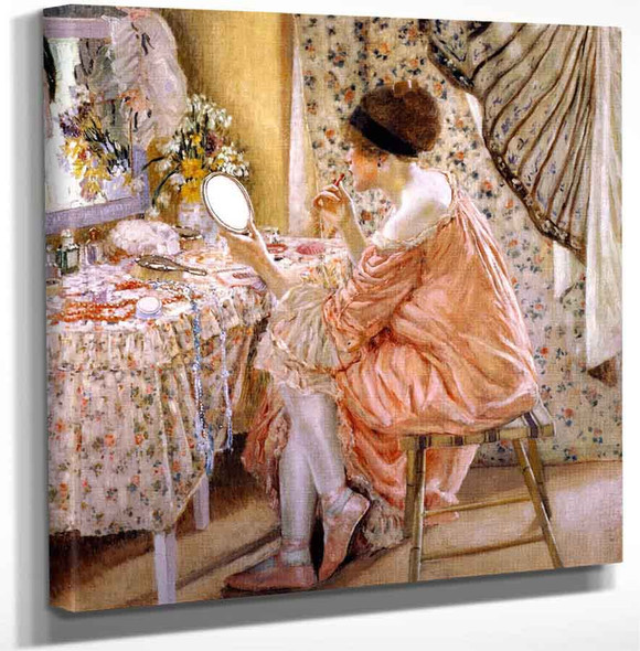 Before Her Appearance By Frederick Carl Frieseke Art Reproduction