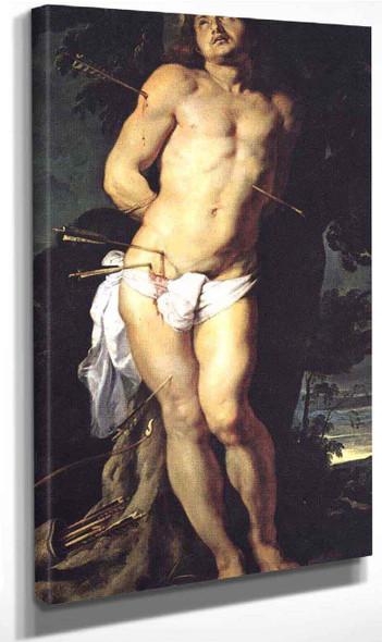 Saint Sebastian By Peter Paul Rubens By Peter Paul Rubens