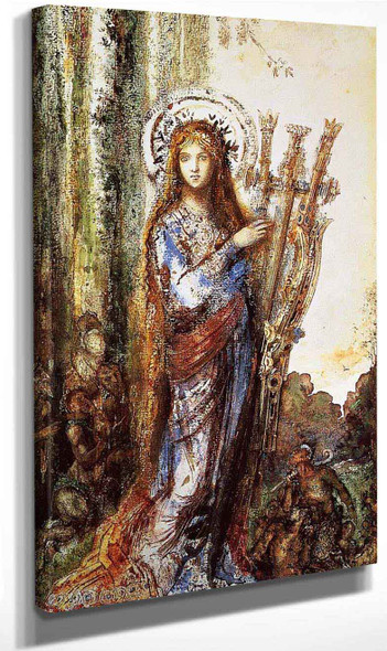 Satyrs By Gustave Moreau
