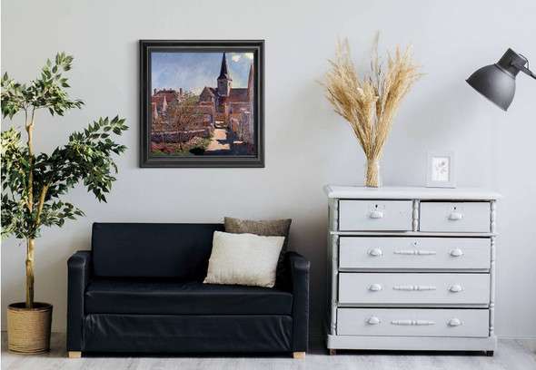 Bennecourt1 By Claude Oscar Monet Art Reproduction
