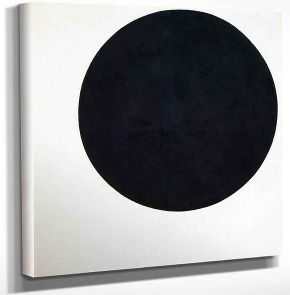 Black Circle By Kasimir Malevich Art Reproduction
