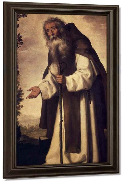 St. Anthony Abbot By Francisco De Zurbaran