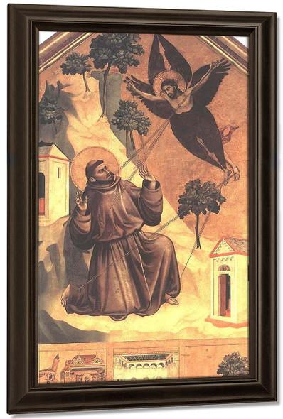 Stigmatization Of St Francis By Giotto Di Bondone By Giotto Di Bondone