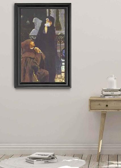 Stone Guest, Don Juan And Donna Anna. By Ilia Efimovich Repin Art Reproduction