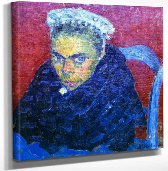 Breton Farmers Wife By Alexei Jawlensky Art Reproduction