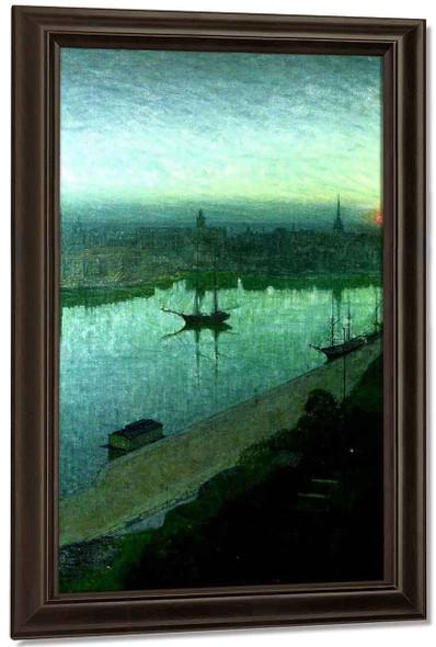 Sunrise By Eugene Jansson