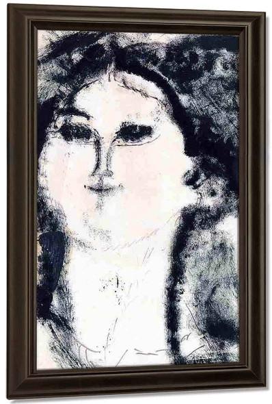 Teresa By Amedeo Modigliani By Amedeo Modigliani