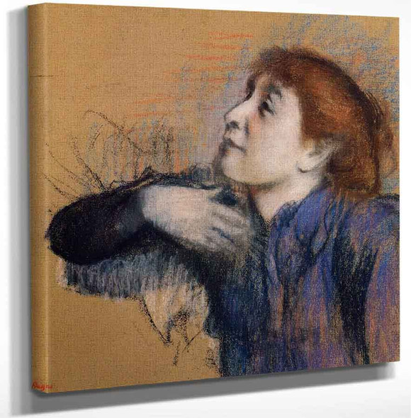 Bust Of A Woman By Edgar Degas Art Reproduction