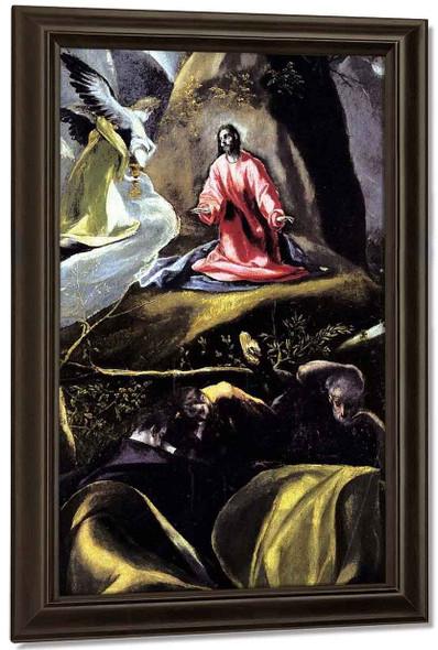The Agony In The Garden3 By El Greco By El Greco