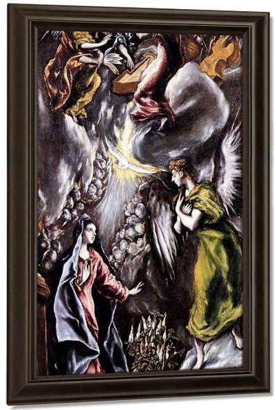 The Annunciation By El Greco By El Greco