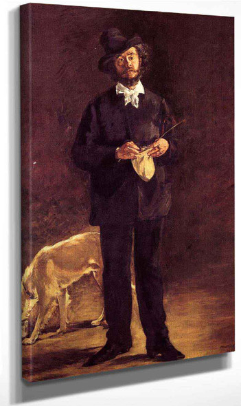 The Artist By Edouard Manet By Edouard Manet