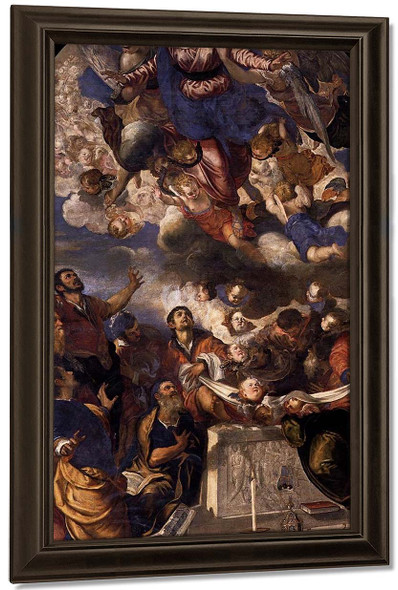 The Assumption Of Mary By Jacopo Tintoretto