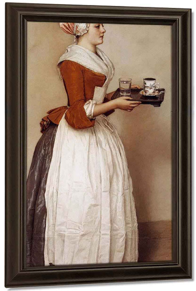 The Chocolate Girl By Jean Etienne Liotard