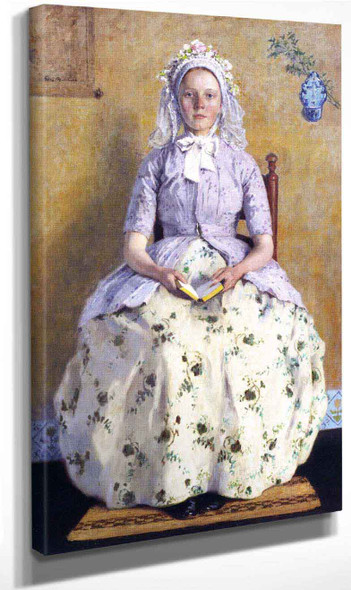 The Communicant By Gari Melchers