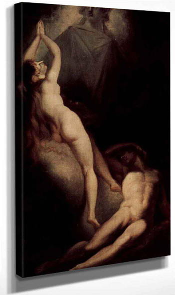 The Creation Of Eve By Henry Fuseli By Henry Fuseli