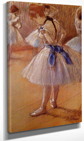 The Dance Studio By Edgar Degas By Edgar Degas