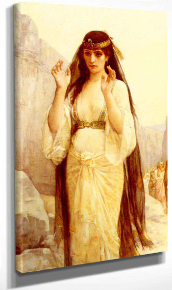 The Daughter Of Jephthah By Alexandre Cabanel