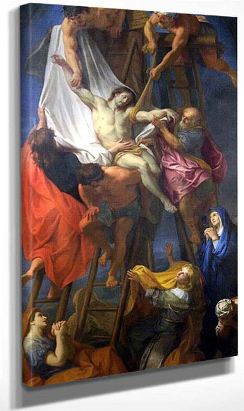 The Descent Of The Cross By Charles Le Brun By Charles Le Brun
