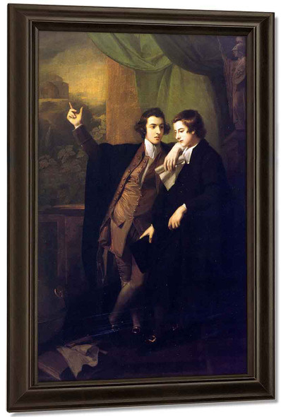 The Drummond Brothers By Benjamin West American1738 1820
