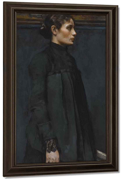 The Embroideress By Gari Melchers