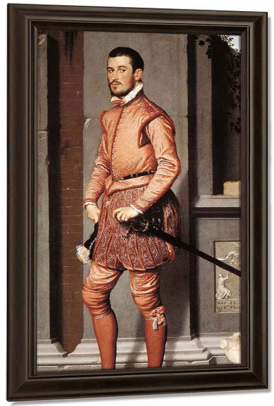 The Gentleman In Pink By Giovanni Battista Moroni