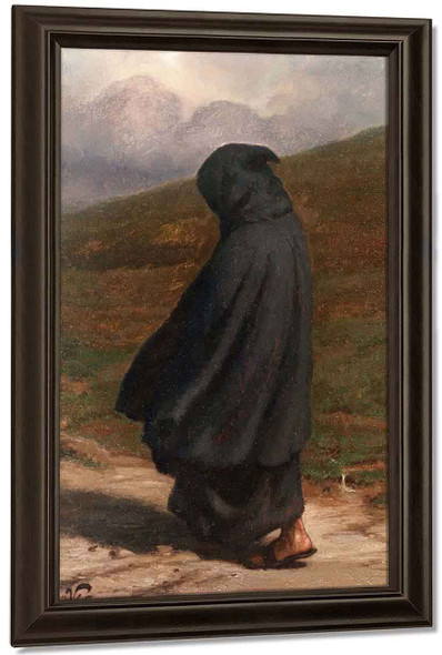 The Gloomy Path By Elihu Vedder