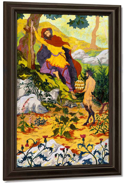 The Legend Of The Hermit1 By Paul Ranson