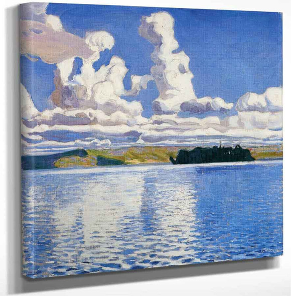 Cloud Towers By Akseli Gallen Kallela Art Reproduction