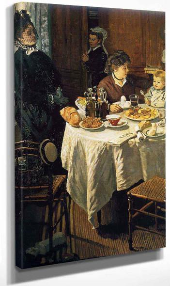The Luncheon By Claude Oscar Monet