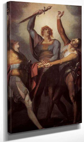 The Oath On The Ruttli By Henry Fuseli By Henry Fuseli