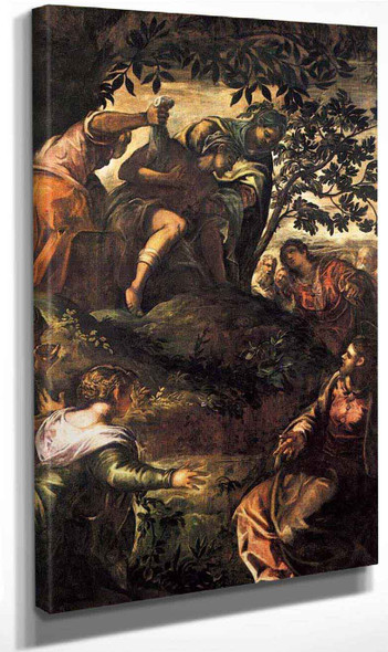 The Raising Of Lazarus By Jacopo Tintoretto