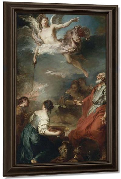 The Sacrifice Of Gideon By Francois Boucher