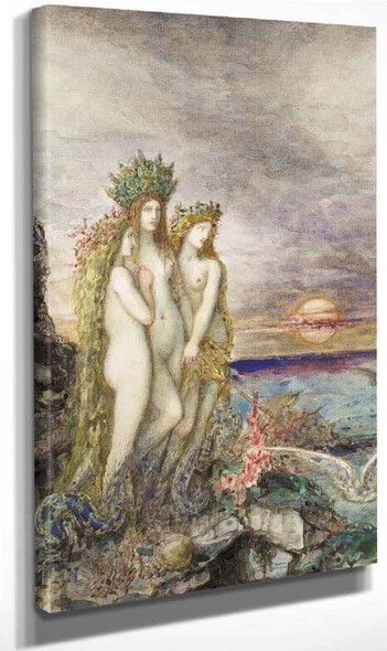 The Sirens By Gustave Moreau