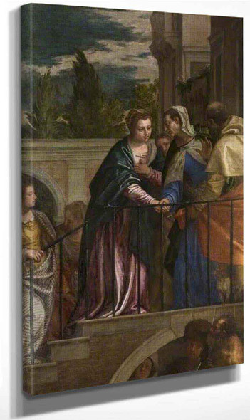 The Visitation By Paolo Veronese
