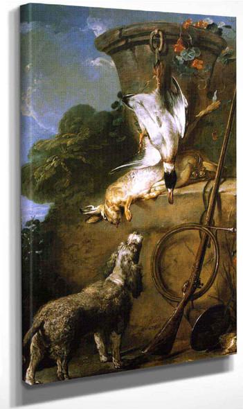 The Water Spaniel By Jean Baptiste Simeon Chardin By Jean Baptiste Simeon Chardin
