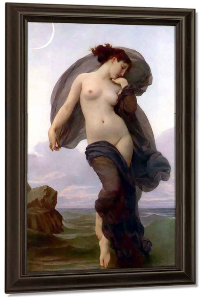 Times Of The Day 3 Dusk By William Bouguereau By William Bouguereau