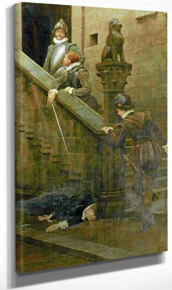 Vendetta By John Maler Collier By John Maler Collier