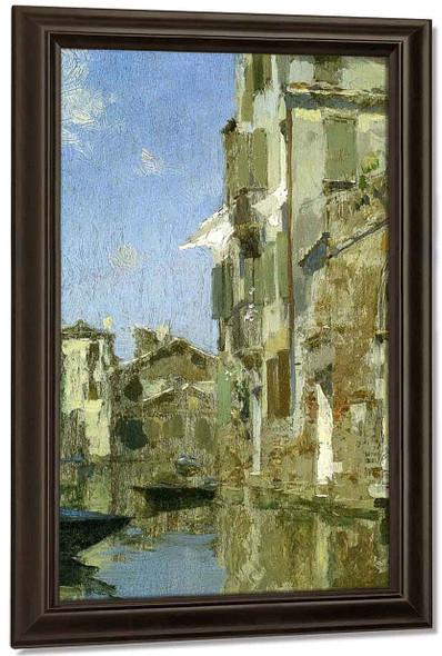 Venice By Willard Leroy Metcalf By Willard Leroy Metcalf