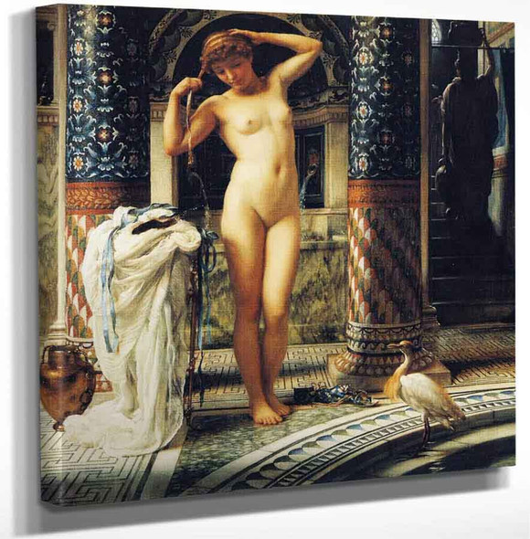 Diadumene By Sir Edward John Poynter Art Reproduction