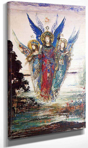 Voices Of Evening By Gustave Moreau