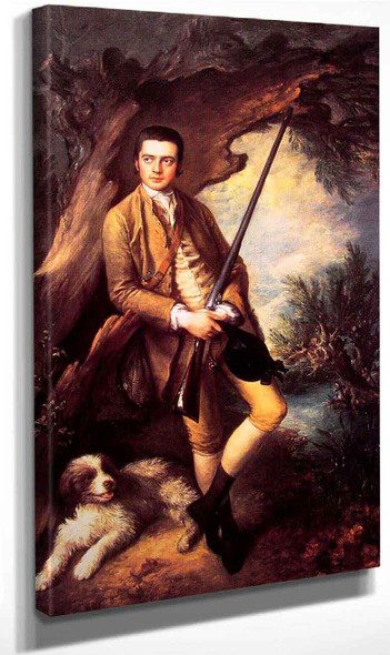 William Poyntz By Thomas Gainsborough By Thomas Gainsborough