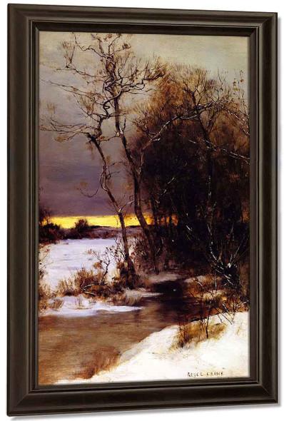 Winter Sunset By Bruce Crane