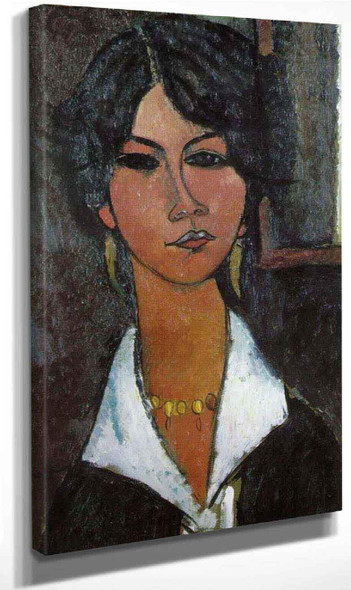 Woman Of Algiers By Amedeo Modigliani By Amedeo Modigliani