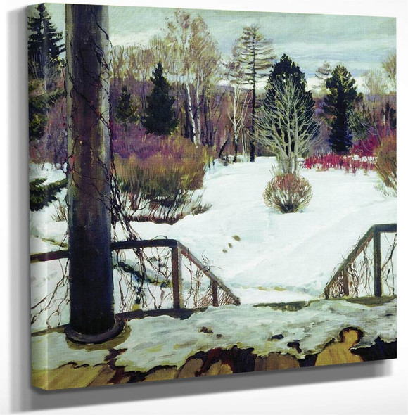 Early Spring By Sergei Arsenevich Vinogradov Russian 1869 1938 Art Reproduction