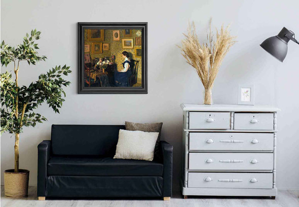 Edwardian Interior By Harold Gilman Art Reproduction