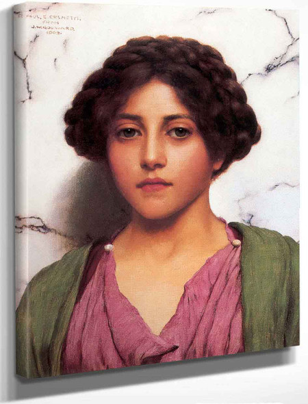 A Classical Beauty 23 By John William Godward By John William Godward