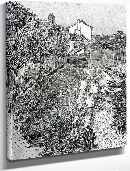 A Garden With Flowers By Jose Maria Velasco
