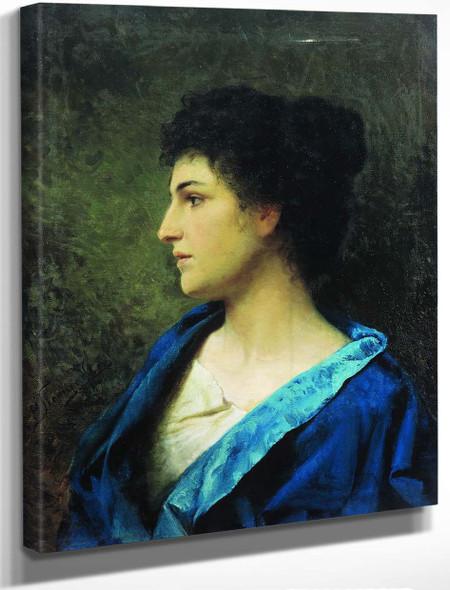 A Greek Lady By Hendryk Siemiradzki