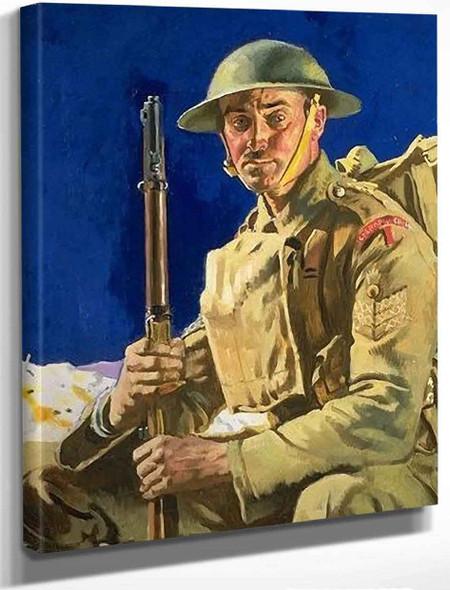 A Grenadier Guardsmen By Sir William Orpen By Sir William Orpen